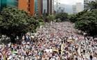 Γυναίκες κατέκλυσαν τους δρόμους της Βενεζουέλας