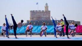 Δρ. Chungwon Choue: «Τέλειο το Παγκόσμιο πρωτάθλημα Taekwondo Beach στη Ρόδο»