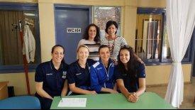 Εθνική Γυναικών: Επίσκεψη στο Γυμνάσιο Σκάλας
