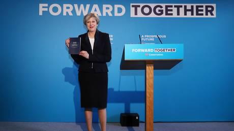 Η Τερέζα Μέι θέλει να ενισχύσει τον έλεγχο του κράτους στις βρετανικές επιχειρήσεις