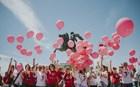 """Θεσσαλονίκη: Στα ροζ """"ντύθηκε"""" η Νέα Παραλία για το 5ο Sail for Pink"""