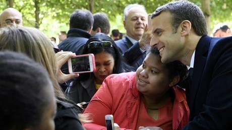 Θετική γνώμη για το κίνημα του Μακρόν έχει το 76% των Γάλλων