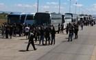 Ι.Χ. συγκρούστηκε με πούλμαν που μετέφερε οπαδούς του ΠΑΟΚ στο Βόλο