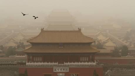 Κίνα: Αμμοθύελλα πλήττει τη χώρα – Εντυπωσιακές φωτογραφίες