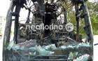 Ολοκληρωτική καταστροφή: Κάηκε ΚΤΕΛ στη Φλώρινα