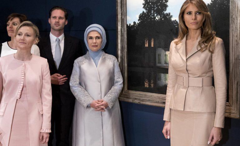 Ο σύζυγος του πρωθυπουργού του Λουξεμβούργου, ποζάρει με τις Πρώτες Κυρίες