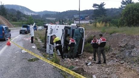Τουρκία: 8 νεκροί και 34 τραυματίες από ανατροπή λεωφορείου