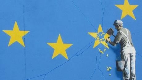 Το νέο έργο του Banksy είναι αφιερωμένο στο Brexit