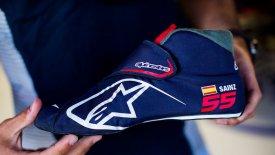 Το πιο ελαφρύ παπούτσι στη Formula1!