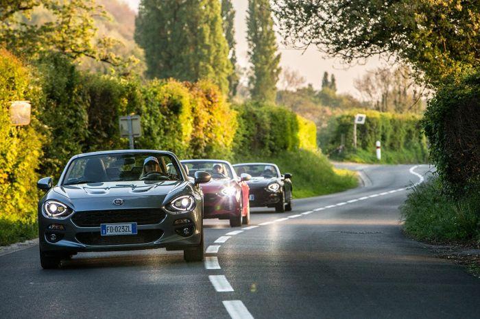 Το Fiat 124 Spider μας ξεναγεί στις ομορφιές της Ευρώπης (video)