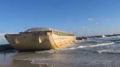 Φλόριντα: Πλοίο – «φάντασμα» ξεβράστηκε στις ακτές (Vid)