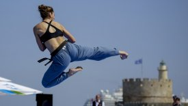 Χάλκινο η Μαυρίκου στο Παγκόσμιο πρωτάθλημα Taekwondo Beach