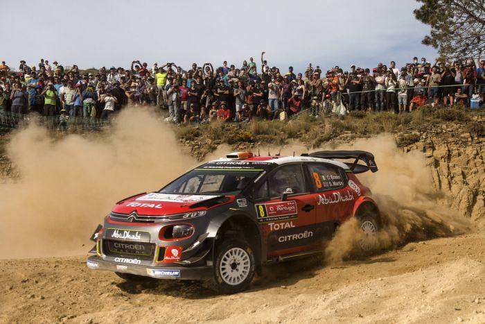WRC Πορτογαλίας δεύτερη ημέρα: Ο Οζιέ πρώτος (video)
