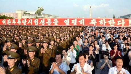 Βόρεια Κορέα: Μεγάλη συγκέντρωση διαμαρτυρίας κατά των ΗΠΑ