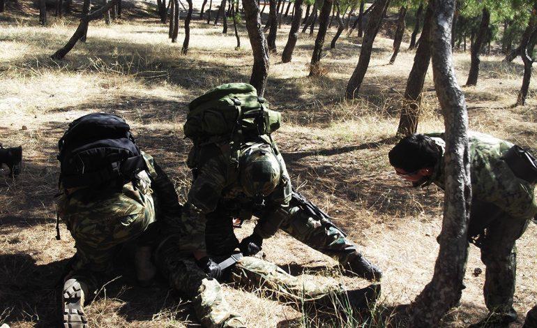 Ζ' ΜΑΚ: Συνεκπαίδευση με Αμερικανούς Combat Medics της SOCEUR