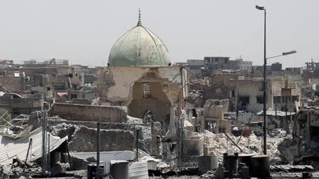 Ιράκ: Ο στρατός κατέλαβε το κατεστραμμένο τέμενος αλ Νούρ στη Μοσούλη (pics)