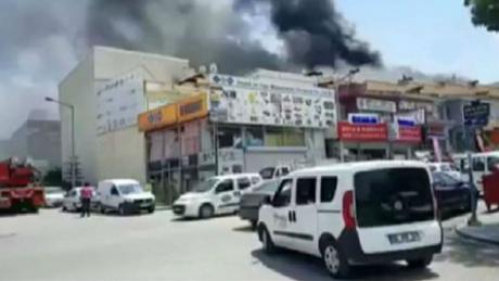 Ισχυρή έκρηξη στην Άγκυρα με δύο νεκρούς (pics&vid)