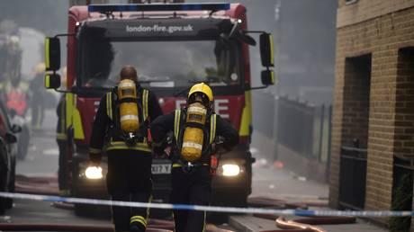 Λονδίνο: Νέος συναγερμός από πυρκαγιά σε διαμέρισμα (pics&vid)