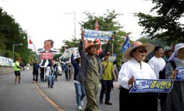 Νότια Κορέα: Χιλιάδες διαδηλωτές κατά της ανάπτυξης του THAAD