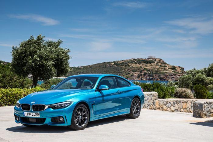 Πανελλαδική παρουσίαση BMW σειρά 4 Coupe Gran Goupe και Cabrio