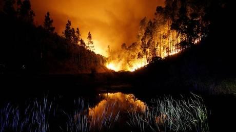 Φονική πυρκαγιά στην Πορτογαλία – Αυξάνονται συνεχώς οι νεκροί (pics)
