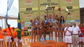 FIVB Beach Volleyball World Tour 1*: «Χάλκινες» στο Μονακό Καραγκούνη/Τσοπούλου