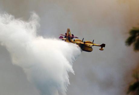 Φωτιά στο Κρυονέρι τώρα !!