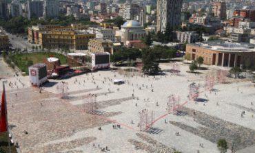 Καταδικάζει το ΥΠΕΞ το αλυτρωτικού χαρακτήρα έργο ανάπλασης της κεντρικής πλατείας Τιράνων
