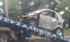 Ατύχημα νωρίς το πρωί στη Νέα Ευθραία.