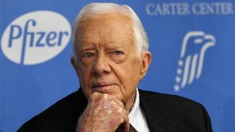 ΗΠΑ: Ο πρώην πρόεδρος Τζίμι Κάρτερ βγήκε από το νοσοκομείο όπου νοσηλευόταν με αφυδάτωση