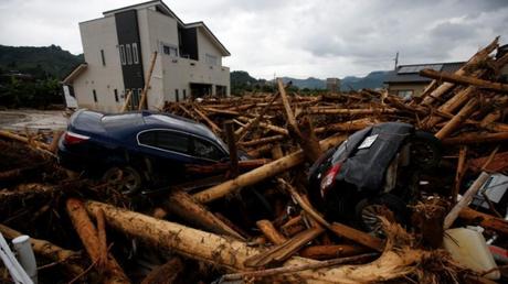Ιαπωνία: 27 τα θύματα από τις καταρρακτώδεις βροχές