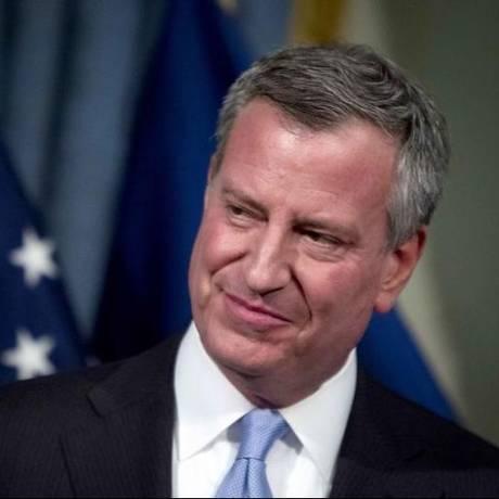 Μπιλ ντε Μπλάζιο: Ο δήμαρχος της Ν. Υόρκης σε διαδήλωση κατά της G20