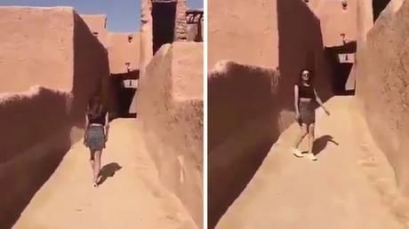 Σαουδική Αραβία: Ελεύθερη η γυναίκα με τη μίνι φούστα (vid)