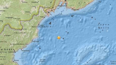 Σεισμική δόνηση 6 Ρίχτερ στη Βόρεια Κορέα