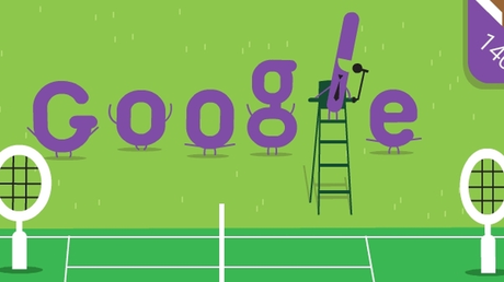 Τουρνουά τένις Γουίμπλεντον: To Doodle της Google για τα 140 χρόνια του θεσμού