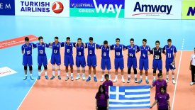 EuroVolleyU17M: Ελλάδα-Φινλανδία 3-1