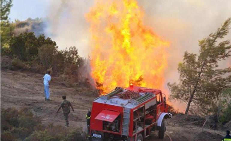 Έκτακτο: Καίγονται σπίτια στον Κότρωνα Λακωνίας