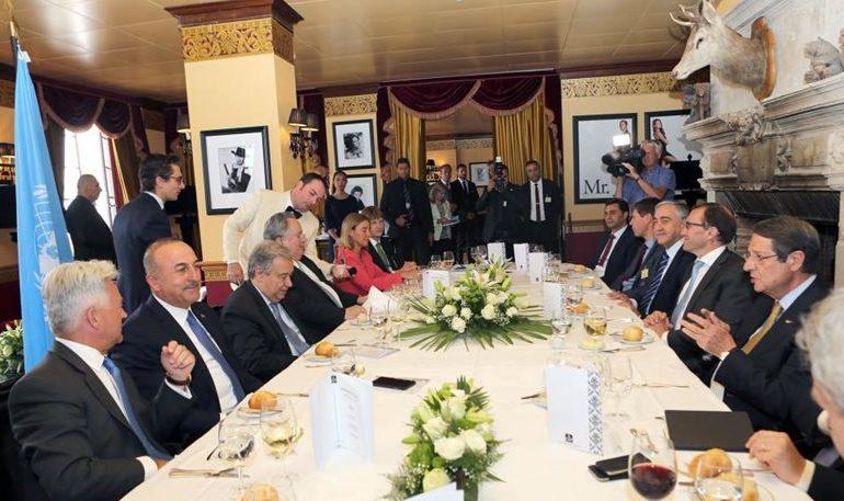 Κατάρρευση των συνομιλιών για το Κυπριακό με ευθύνη της Τουρκίας