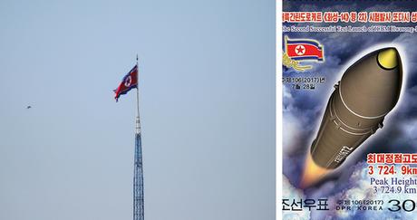 Αμερικανικά και νοτιοκορεατικά βομβαρδιστικά πάνω από την κορεατική χερσόνησο