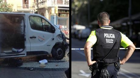Βαρκελώνη: Τρόμος στο κέντρο της πόλης – ανθρωποκυνηγητό για τους δράστες (pics&vids)