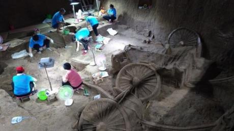 Κίνα: Αρχαία βασιλική «λιμουζίνα» ήρθε στο φως στη διάρκεια ανασκαφών