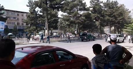 Καμπούλ: Έκρηξη κοντά στην αμερικανική πρεσβεία (pics)
