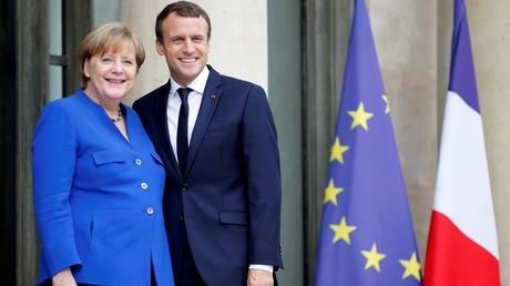 Μακρόν, Μέρκελ, Ραχόι και Τζεντιλόνι σε συνάντηση στο Παρίσι – Τι περιέχει η ατζέντα των συνομιλιών