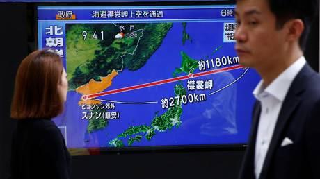 Νέα εκτόξευση πυραύλου από την Β. Κορέα – ΗΠΑ και Ν. Κορέα θα απαντήσουν «δυναμικά» στην πρόκληση
