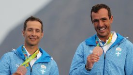 Οι Ολυμπιονίκες Μάντης – Καγιαλής στην Αegean Regatta