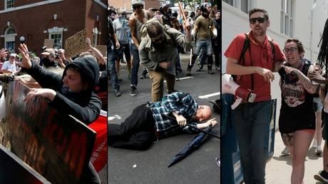 Πανικός στη Βιρτζίνια: Αιματηρές συγκρούσεις εθνικιστών-αντιρατσιστών