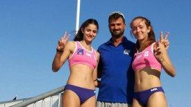 Στους «16» του Ευρωπαϊκού Κ-18 στο Beach Volley οι Κλέπκου, Μάτιου