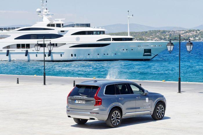 Συνεργασία Volvo Car Hellas και Poseidonion Grand Hotel