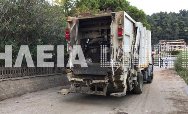 Τραγωδία στο Κατάκολο: Απορριμματοφόρο «πάτησε» εργαζόμενη στην καθαριότητα