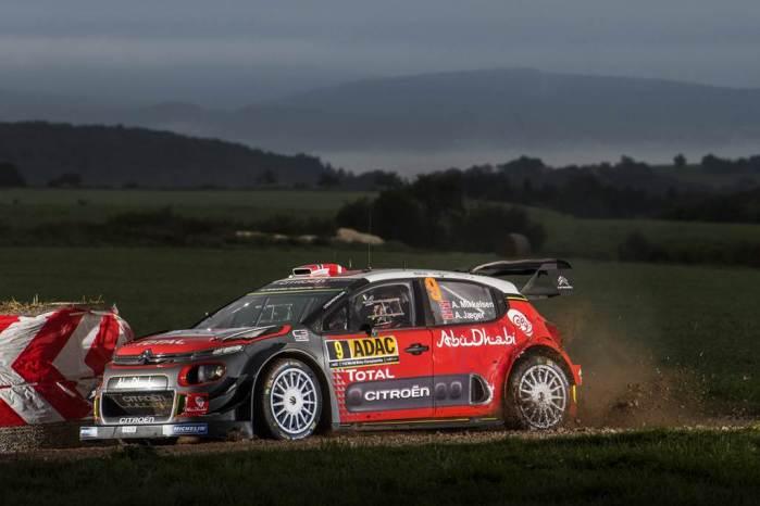 WRC Ράλλυ Γερμανίας:  Κυρίες και κύριοι χειροκροτήστε τον Οτ Τάνακ (video)